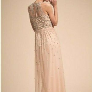 """BHLDN Ginny Bridesmaid Dress in """"Oyster"""" Color"""